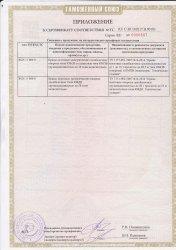Сертификат ТС. Краны мостовые электрические стр.2